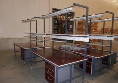 montazni stoly Ostrava
