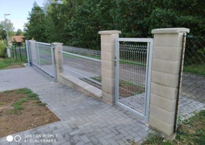 posuvná brána Tušovice (2)